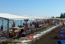 Центр Анапы июнь вторая половина благоустроенная зона на лечебном пляже